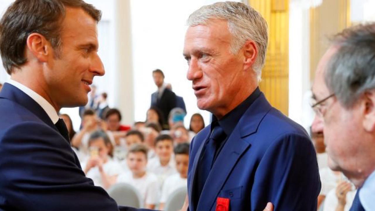 Vexé par Macron, Deschamps lui répond cash