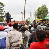 Leta Baba! Nyeri Residents Urge President Uhuru as They Promise to Support BBI Report (VIDEO)