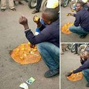 Poverty Is A Disease: Remembering The Poor Man Spotted Eating A Contaminated Food (PHOTOS