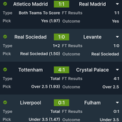 Today's Well Analysed Tips With Good Odds