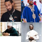 Between Davido, Phyno, Wizkid and Timaya: Who is more Handsome? (Photos)