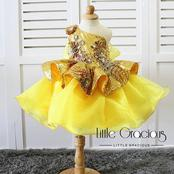 Check Out Lovely Party Dress Styles For Your Princesses