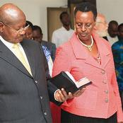 See The Beautiful First Lady Of Uganda Who Is Also The Minister Of Education And Sports