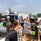 Anambra youths protest against the government