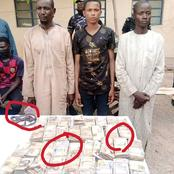 Kidnappers Arrested With 3.6 Million Naira Ransom