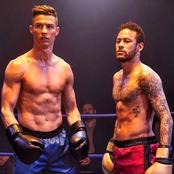 Photos of Cristiano Ronaldo, Neymar, Benzema, Pogba, Hazard and Other Top Footballers Boxing