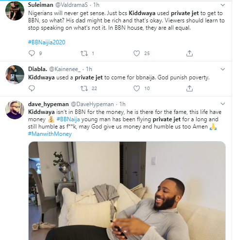 BBNaija housemate, Kiddwaya reveals he paid $8000 for a private jet to get him to Lagos from Abuja for the show (Video)