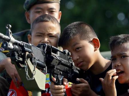 Fear of Civil War Grows In An Asian Country After The Military Rains Down Bombs On A Rebel Army