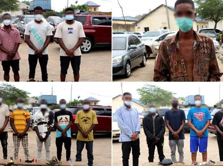 8 Items recovered from 17 suspected cultists