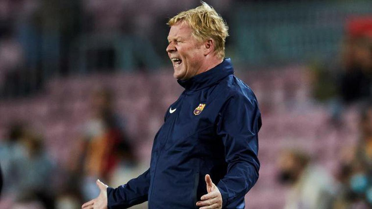 Erst 9 Punkte: Koeman mit Barcelona im Tief