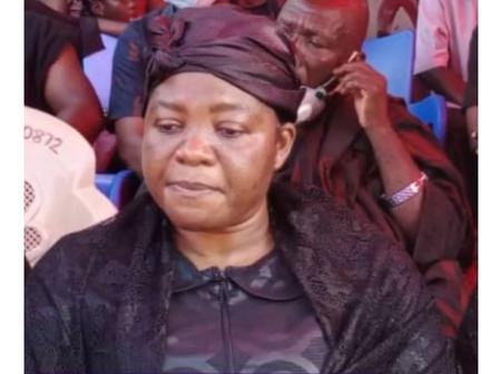 See the reason why Hayford Ophelia has been elected to succeed her late husband MP seat.