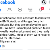 Teacher Exposed The Corruption Around The Teachers Assistant Posts (see this)