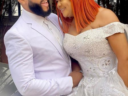 Flashboy Stuns In Wedding Outfit With Actress On Set Of Movie 'The Most Wanted Bachelor'