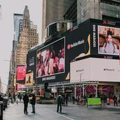 Sho Madjozi Appears Time Square Billboard In New York