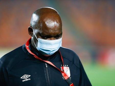 Bad news for Pitso Mosimane