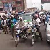 [VIDEO] YORUBA NATION Mass Rally Stormed Major Road In Ibadan, See How Nigerians Reacted