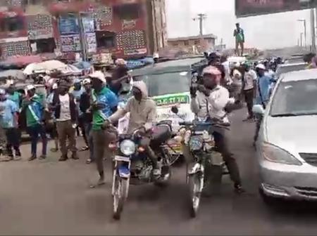 [VIDEO] YORUBA NATION Mass Rally Stormed Major Road In Ibadan, See How Nigerians Reacted