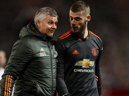 Revealed: Why Manchester United Coach Benched De Gea Against Spurs