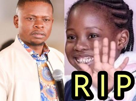 Few Days After This Pastor Lost His 8-Year-Old Daughter, See The