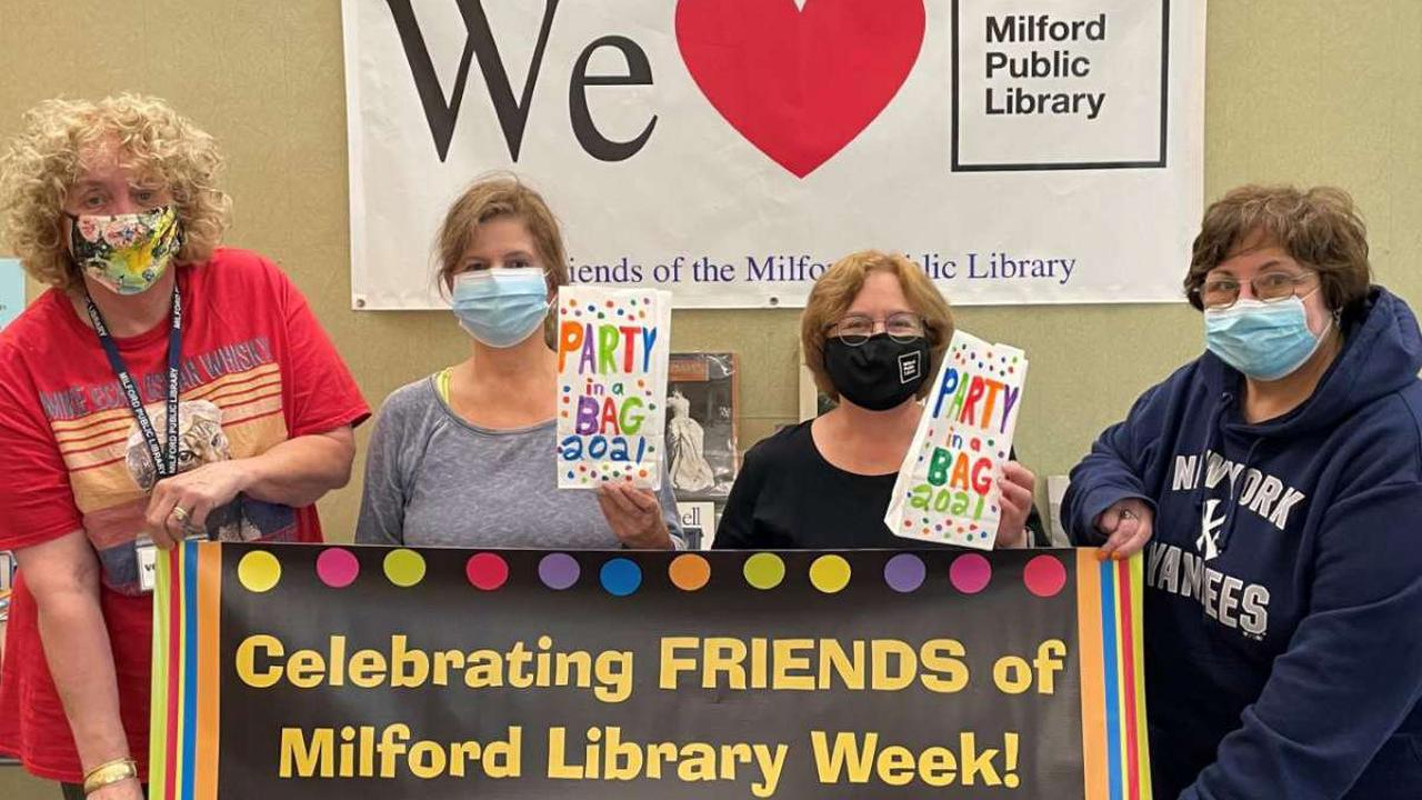 Friends of the Milford Library celebrates National Friends Week