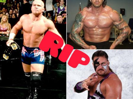 Say no to drugs: see 4 wrestlers who died due to Overdose drugs.