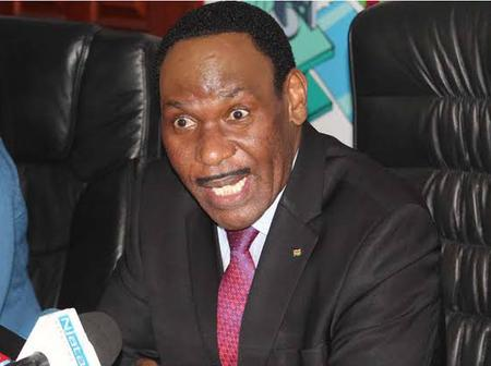Kenyans On Twitter Tear Into KFCB CEO Dr. Ezekiel Mutua, After He Posted This Controversial Tweet