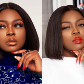 Ex BBNaija Star, Ka3na Stuns In New Photos, Reveals What Applying Red Lipstick Signifies