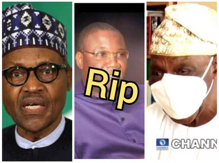 Today's Headline: Buhari Mourns As Prominent Nigerian Dies, OBJ Sends Message To Buhari's Government