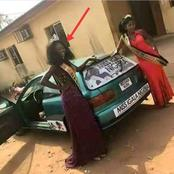 See The Car She Won After Emerging The Winner Of Miss Igalla Nigeria Congratulations To Her