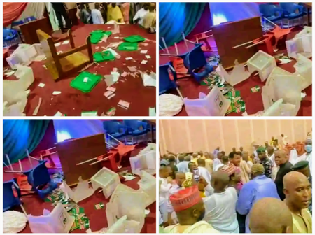 Chaos At PDP Zonal Congress As Thugs Snatch Ballot Boxes