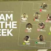 Two of Sundowns players have made it to team of the week