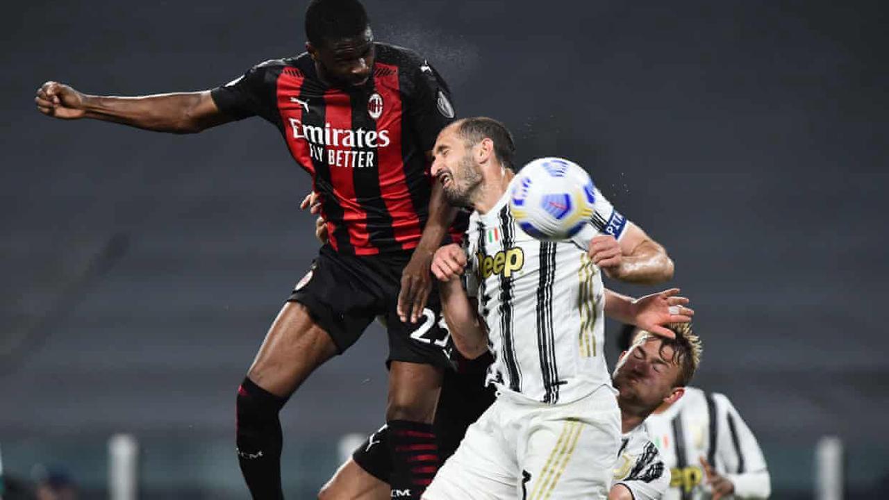 European roundup: Juventus toiling for top-four spot after losing to Milan