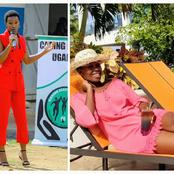 Bobi Wine's Wife Barbie Has Drawn People's Attention Due To Her Great Sense Of Style