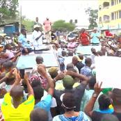 Raila Odinga And Junet Mohammed Heckled in Nyali Forcing Governor Joho Intervene - Video