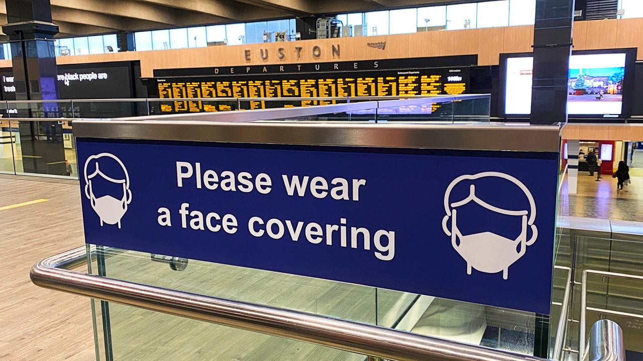 As no sign of Covid found on trains why do we need to wear masks?