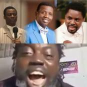 Video: Man Lambast Prominent Men Of God In Nigeria, As He Dare Them To Refute All He Has Said.