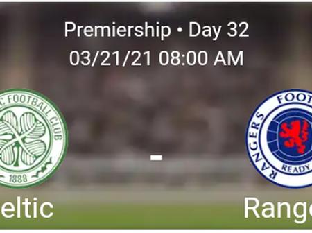 Celtic vs Rangers Statistics
