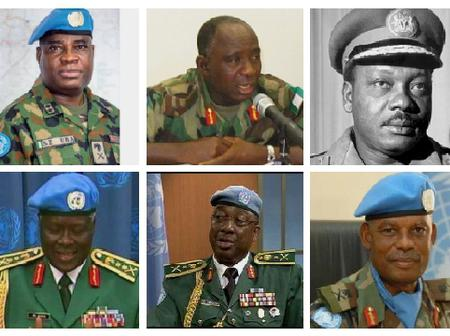 Meet 8 Nigerians Who Have Served As United Nations Force Commanders (See Photos)