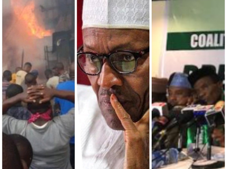 Northern Group Blows Hot, See What They Warned Buhari To Do In The Next 3 Months Or This Will Happen