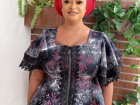 Different Reactions As Popular Actress, Ronke Oshodi Oke Shares New Picture