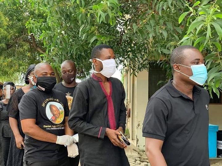 ba604b065ba1766edf131617b6f4354a?quality=uhq&resize=720 - Management & Staff of Despite Media arrives at the one week observation Of Late Nana Adjei Sikapa(Photos)