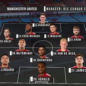 OPINION: Have You Seen This Manchester United Powerful Lineup? Ole Might Use It In Next EPL Match!
