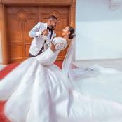Romantic Wedding Photos Of Williams Uchemba and Wife