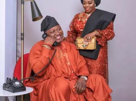Yoruba Actress Tawa Ajisefinni Celebrates Her Husband Birthday In United State.