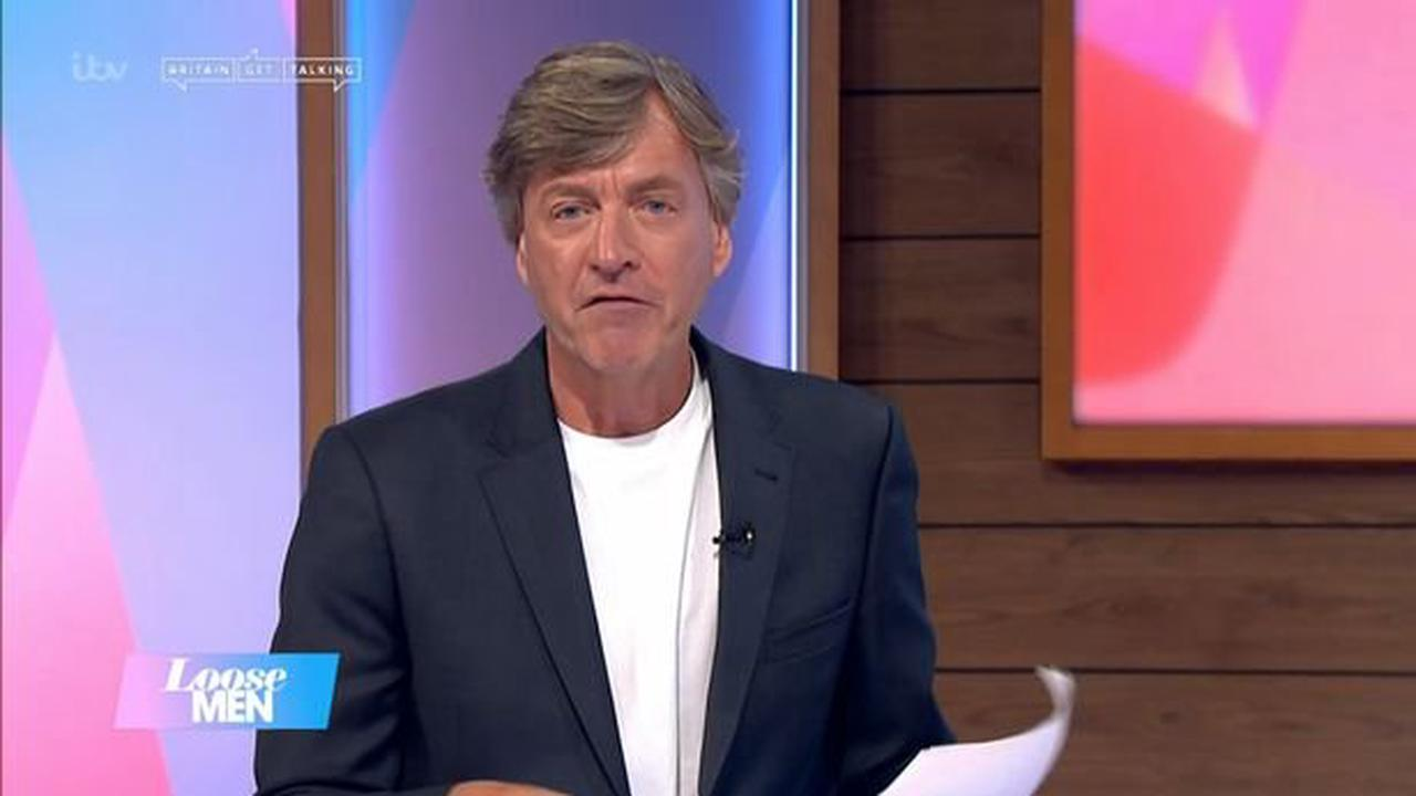 Richard Madeley leaves Loose Men fans in disbelief as he announces his true age