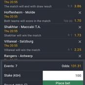7 Well Analyzed Europa League Matches to win you Over 12K With 100 bob