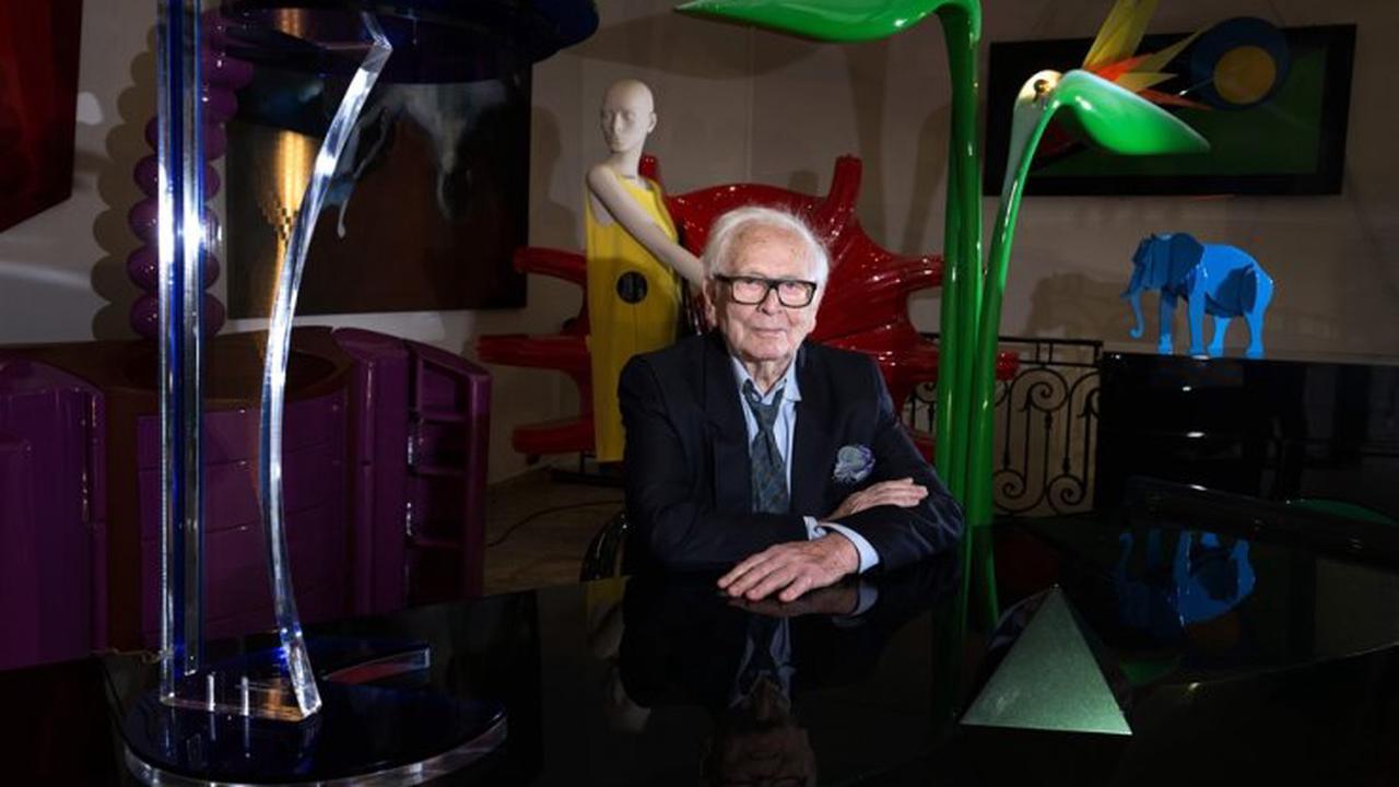 Pierre Cardin, ground-breaking fashion designer and master marketer, dies at 98