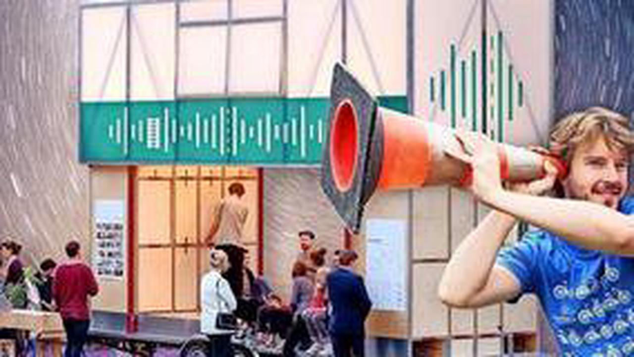Aktionen zum Hören im Straßenverkehr auf Heini-Nülle-Platz