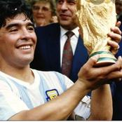 A football Legend Maradona goes home, what a sad news
