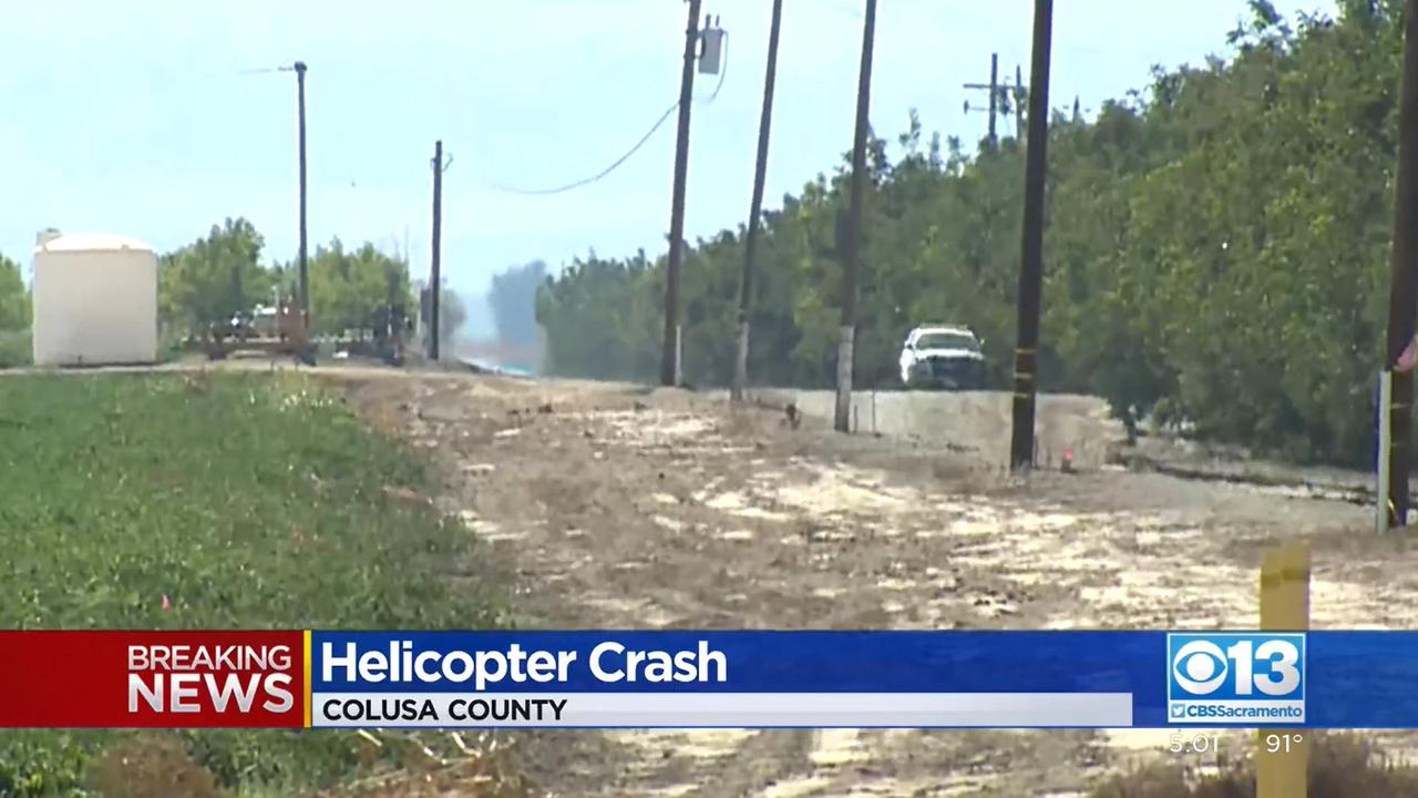 Helicopter crash in Colusa County, California, leaves 'at least 4 people dead'